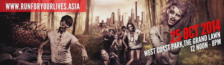 Run For Your Lives - Singapore Halloween - October 2014