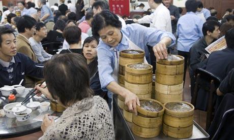 24 hours in Hong Kong - Dim Sum Breakfast – Lin Heung (Wellington Street)