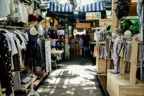 Chatuchak Market Clothes Stores