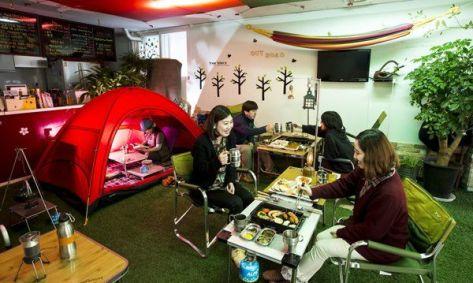 I'm Camper Cafe (Hongdae)