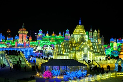 Harbin Ice & Snow Sculpture Festival