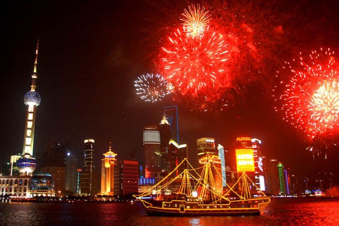 Where to See in the New Year in Shanghai For Any Budget