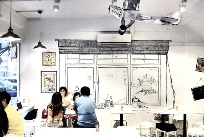 Singapore's Most Unique & Unusual Cafes